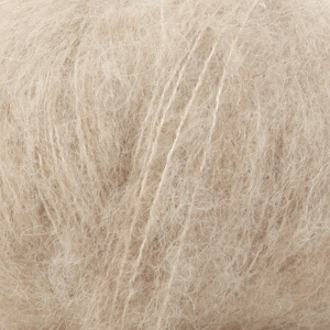 Drops Brushed Alpaca Silk vaalea beige (04)
