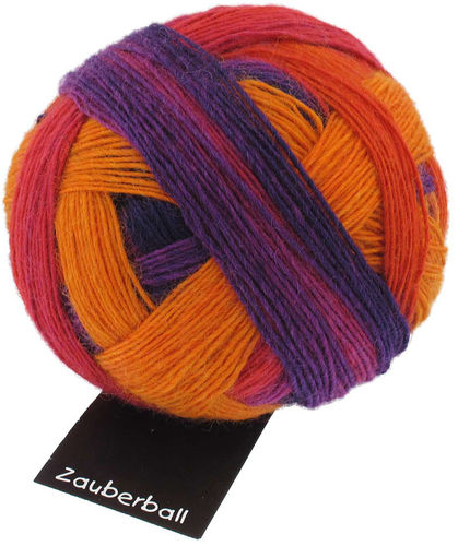 Zauberball A Bed of Fuchsia (1536) 100 g